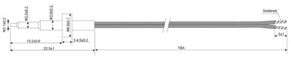 FRP1 Fast Response Sensor Drawing