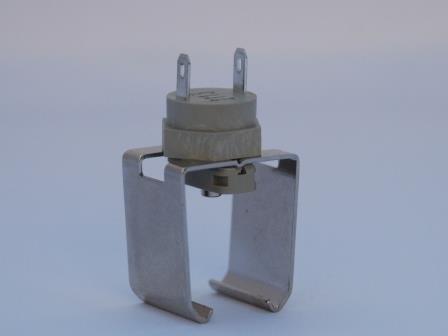 BTS$ IP67 Pipe-Clip Surface Temperature Sensor