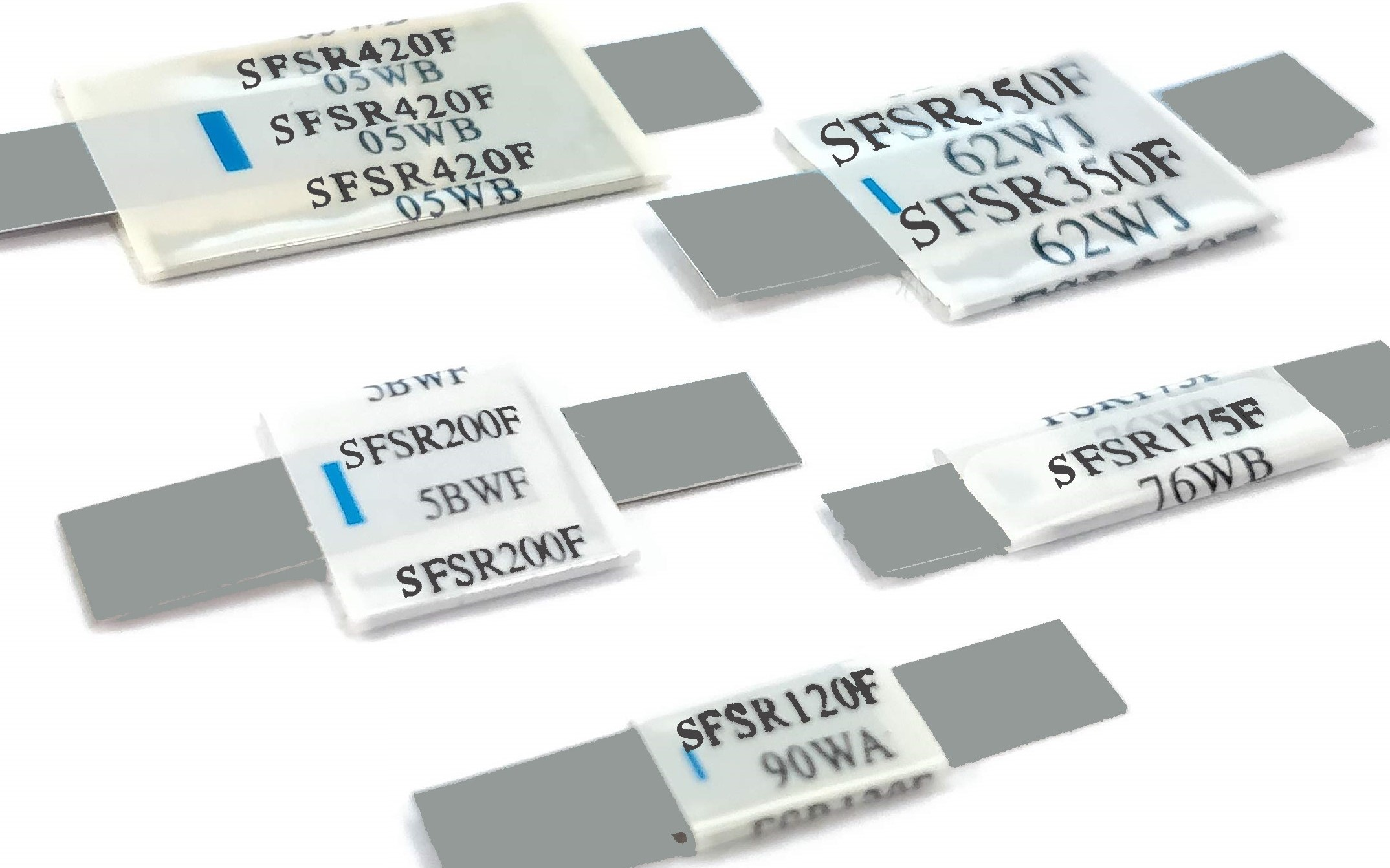 Fuzetec SFSR resettable PTC fuses