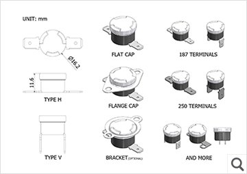 SEKI HB Product Drawing I ATC Semitec