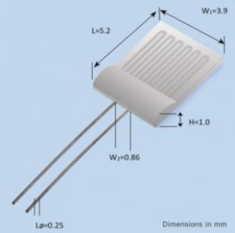 Accurate High Temperature Micro Pt Heater